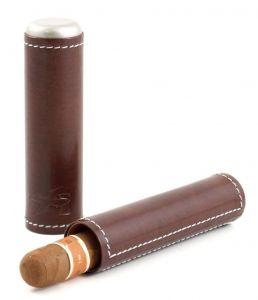Pouzdro na 1 dotuník XIKAR Envoy Cigar Case (cognac)