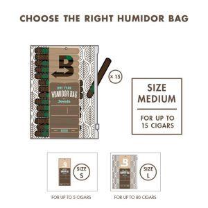 Boveda Humidor Bag Medium sáček