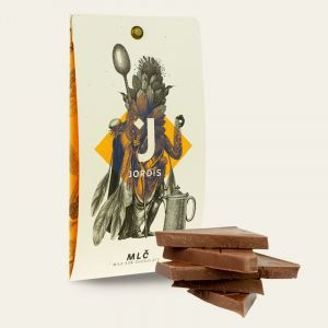MLČ 53% mléčná čokoláda 50g Jordis