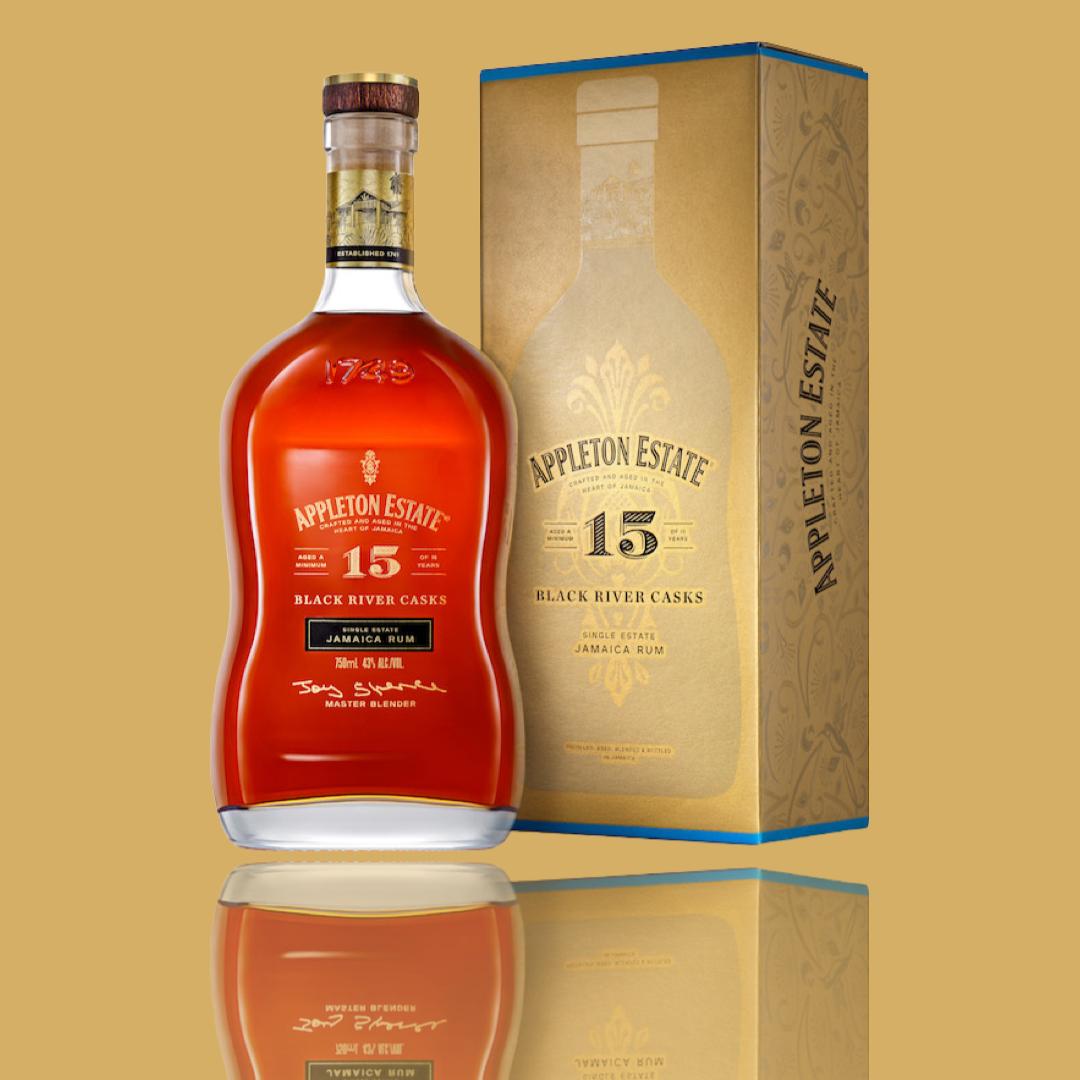Rum Appleton 15 Y.O. Black River Casks 0.7l.