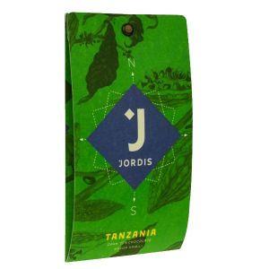 TAN Jordis tmavá čokoláda Tanzanie 75%