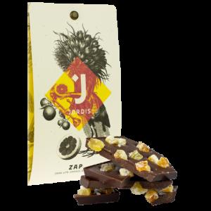 ZAP 67% čokoláda zázvor a pomeranč 50g Jordis