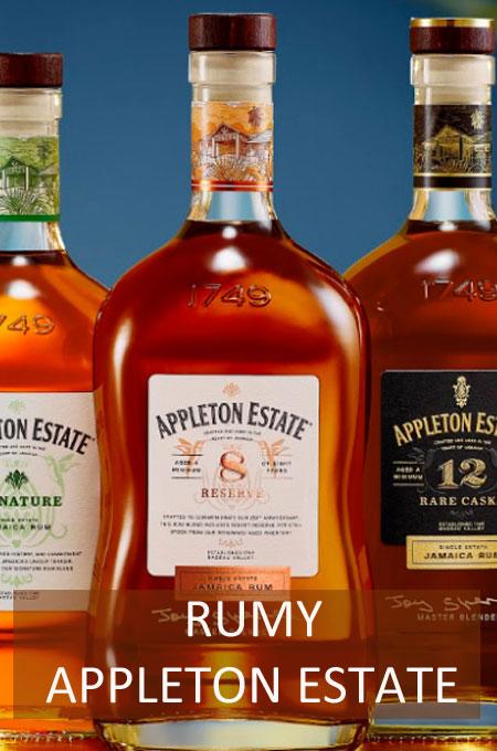 Nabídka rumů